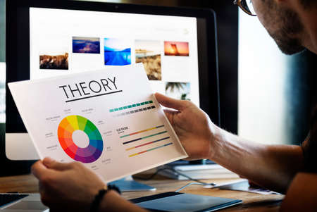 theory: Theory Graphic Chart Color Scheme Concept