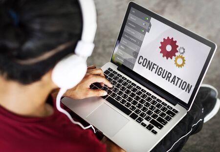 Le impostazioni di configurazione di installazione Strumenti Concetto