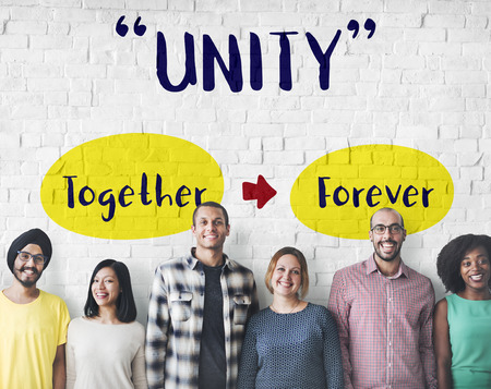 Standing Together Unity Loyalty Concept