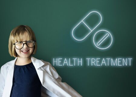 medical cure: Cure Health Medical Drugs Concept