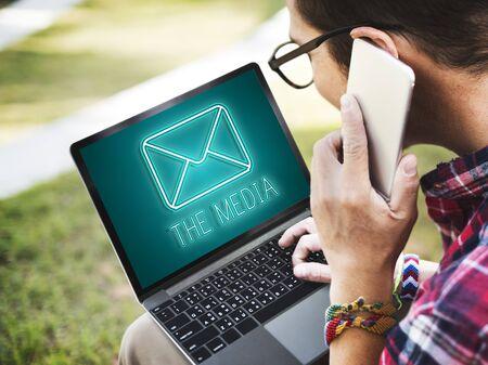 Message Letter Envelope Chat Graphic Concept
