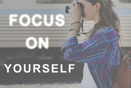 yourself: Focus On Change Fashion Yourself Trends Concept