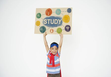 showoff: Kids Education Knowledge Study School Graphic Stock Photo