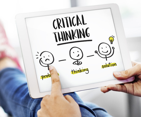 Critical Thinking Creative Brainstorm People Concept
