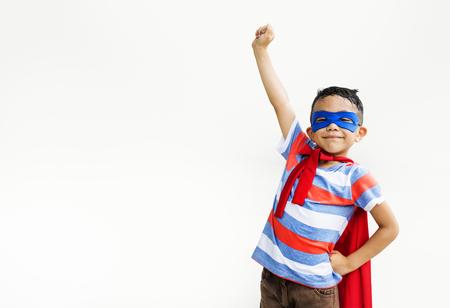 Junge-Kind-Kind Junge Entzückende Fröhlich Konzept Standard-Bild - 62701925