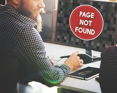 not a problem: Page Not Found Message 404 Problem Concept Stock Photo
