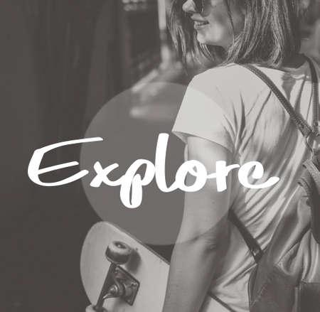 aspiration: Explore Journey Travel Aspiration Concept