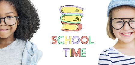school time: Wisdom Education School Time Academic Concept Stock Photo