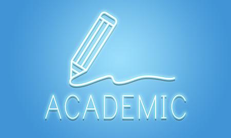 Academische kennis Wijsheid Learning Concept Stockfoto