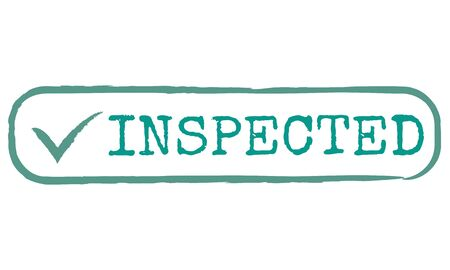 authorisation: Inspected Allow Approve Authority Permit Graphic Concept