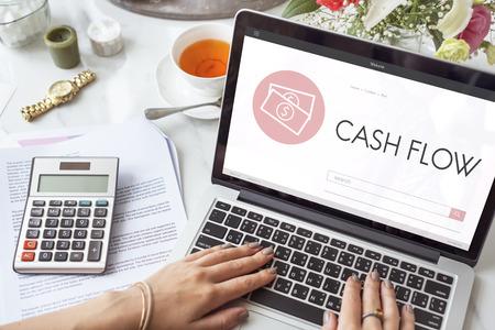 capitalismo: Capitalism Cash Credit Revenue Banking Stock Concept