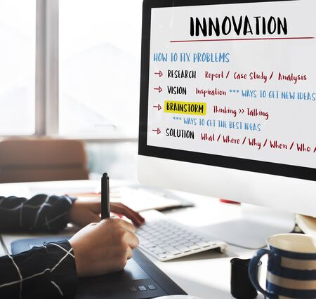 incubation: Innovation Creativity Brainstorm Plan Concept Stock Photo