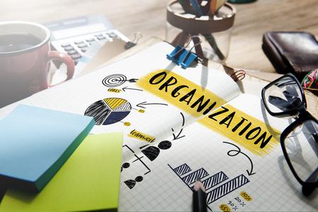 Organisation Stratégie de planification Branding Graphique Concept Banque d'images - 63886246