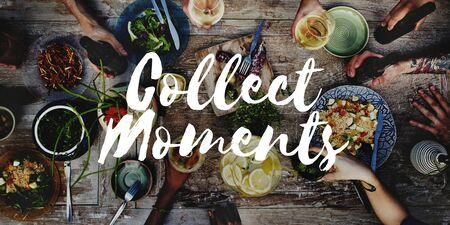 the moments: Collect Moments Adventure Enjoyment Explore Concept