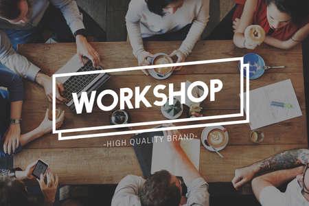 bureaucratic: Workshop Workplace Workspace Work Office Concept