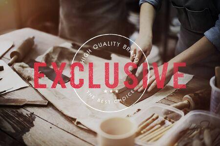 Exclusive Premium Quality Brand Concept