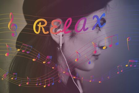 melody: Melody Music Note Rhythm Graphic Concept
