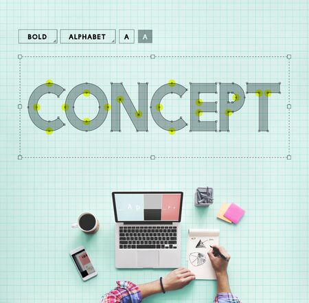 notion: Creative Ideas Image Notion Invention Statement Concept Stock Photo