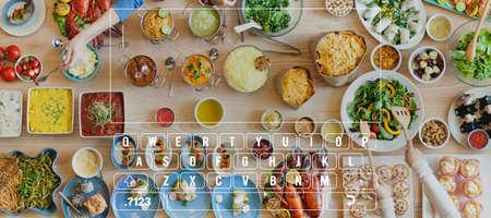 keypad: Key Board Message Keypad Technology Concept