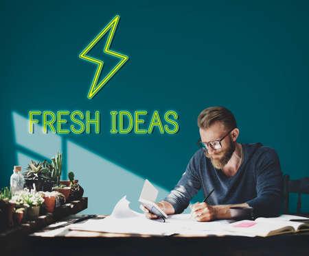 vorschlag: Lösungsvorschlag Fokus Design Concept Lizenzfreie Bilder