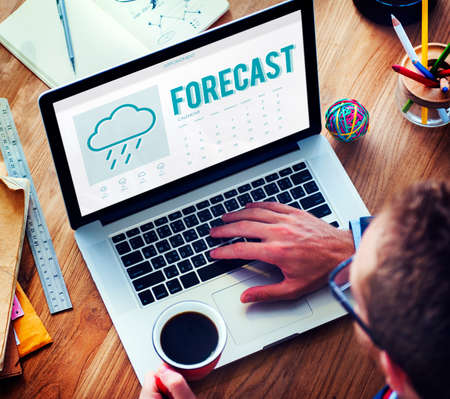 foresee: Forecast Weather Rainy Cloud Concept Stock Photo