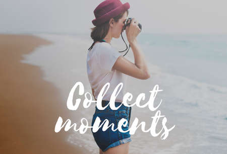 juntar: Collect Moments Happiness Freedom Time Concept