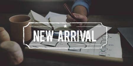 New Arrival Current Recent Lastest Modern Concept Reklamní fotografie