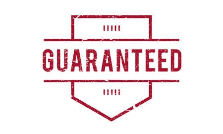 pledge: Guarantee Warranty Assurance Quality Graphic Concept Stock Photo