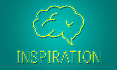 brainstorm: Brainstorm Ideas Sharing Solution Graphic Concept Stock Photo