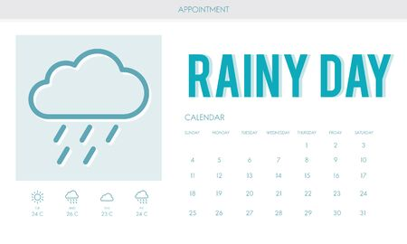 to foresee: Rainy Day Forecast Weather Rainy Cloud Concept Stock Photo