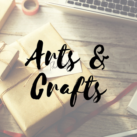 Arts & Crafts Gift Present Give Sharing Congratulations Concept