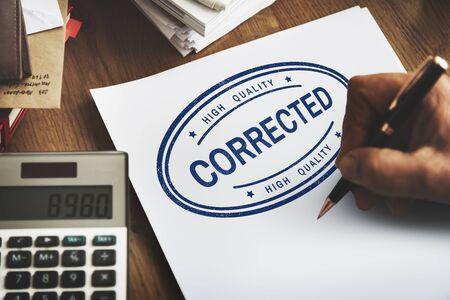 method: Corrected Solved Fix Method Modify Amend Concept