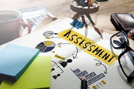 Assessment Strategy Planning Branding Chart Concept