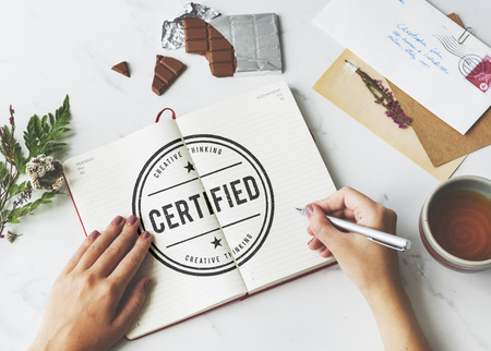 substantiate: Certified Guarantee Warranty Verify Stamp Word Concept