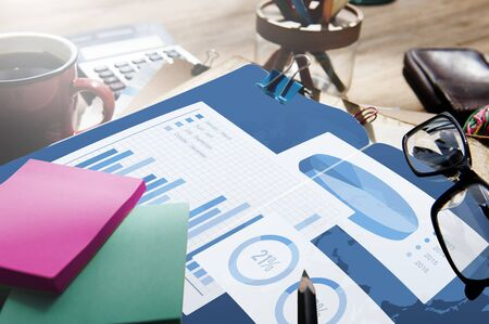 organisation: Business Chart Organisation Success Concept