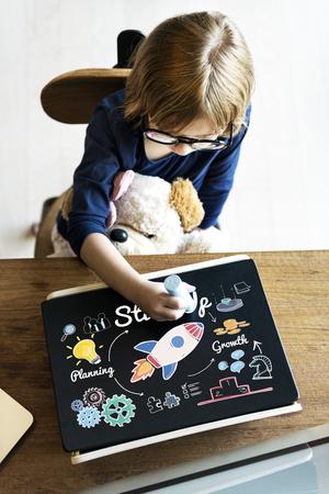 Start up Innovation Bulb Creative Concept Stock Photo