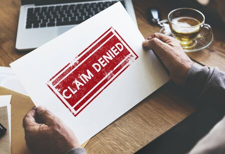 banned: Delayed Banned Cancelled Denied Stamp Label Mark Concept