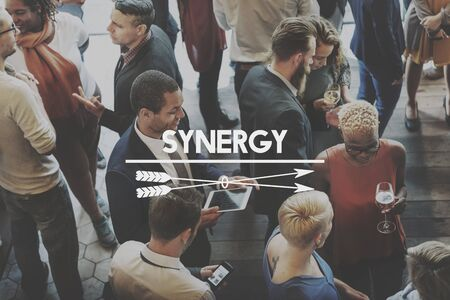 empower: Team Teamwork Teambuilding Synergy Empower Concept