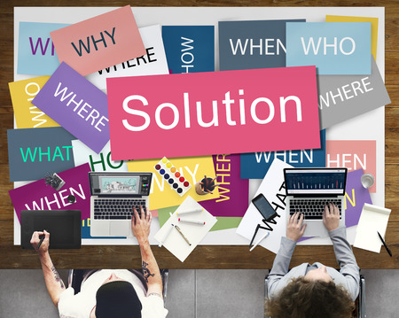 problem solution: Solution Solving Problem Success Theory Concept