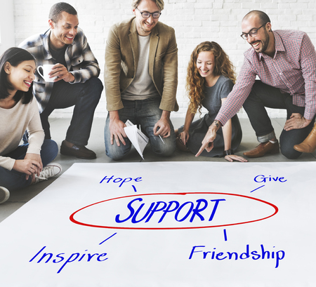 contribute: Support Care Assistance Help Concept
