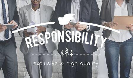 and authority: Concepto de Responsabilidad Responsable Obligación Autoridad Fiabilidad