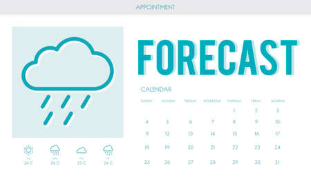 foretell: Forecast Weather Rainy Cloud Concept Stock Photo