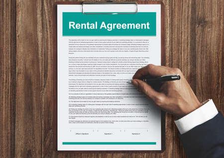 rental: Rental Agreement Assets Concept