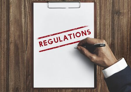 conditions: Regulations Conditions Rules Standard Terms Concept