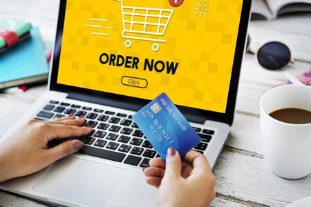 online purchase: Shopping Online Cart Graphic Purchase Concept
