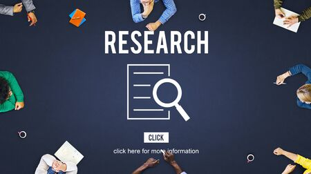 discovery: Research Analysis Discovery Investigation Concept