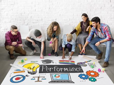 expertise: Performance Ability Skill Expertise Implementation Expert Concept Stock Photo