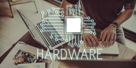 processor: Technology Circuit Processor Innovation Network Concept