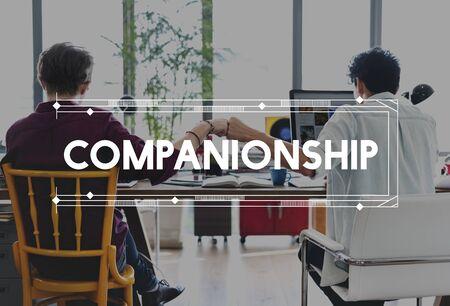 people development: Corporate Business Collaboration Connection Partnership Concept