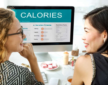 the calories: Calories Nutrition Food Exercise Concept
